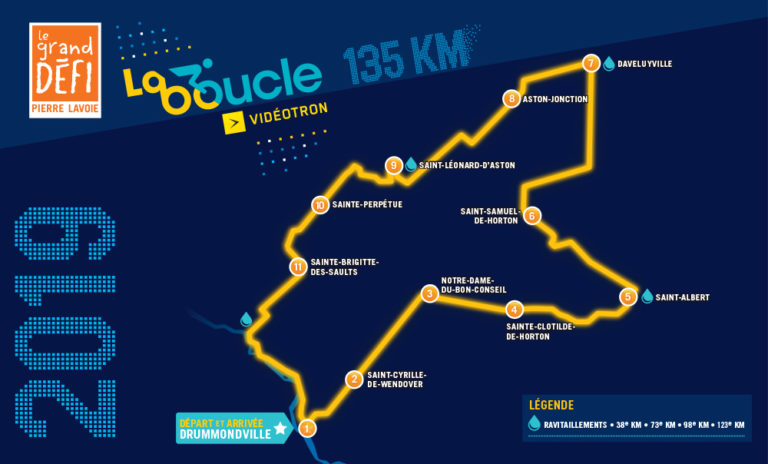 Boucle Pierre Lavoie: for the fun & the challenge